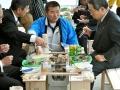 オイスターロード3号店オープンに呉の小村市長もお越しになりました。